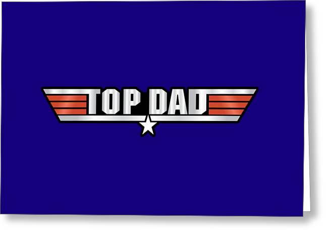 Top Dad Callsign Greeting Card