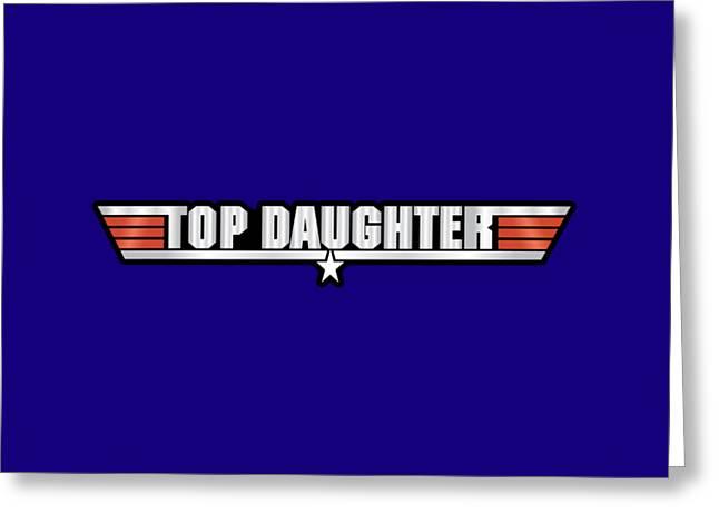Top Daughter Callsign Greeting Card