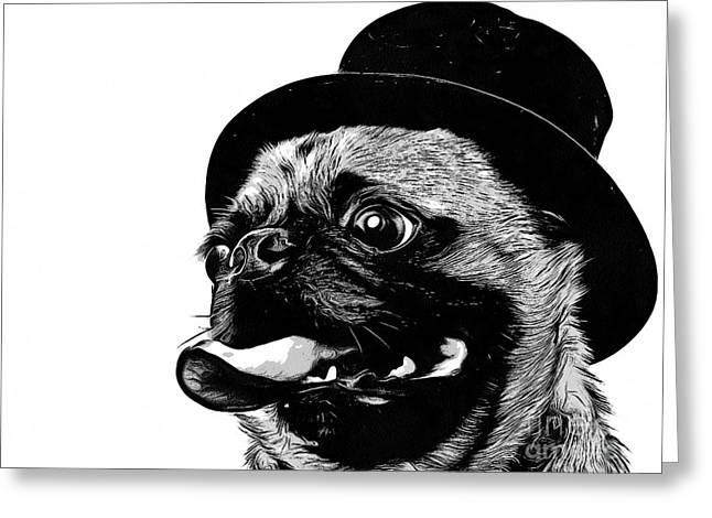 Top Dog Greeting Card