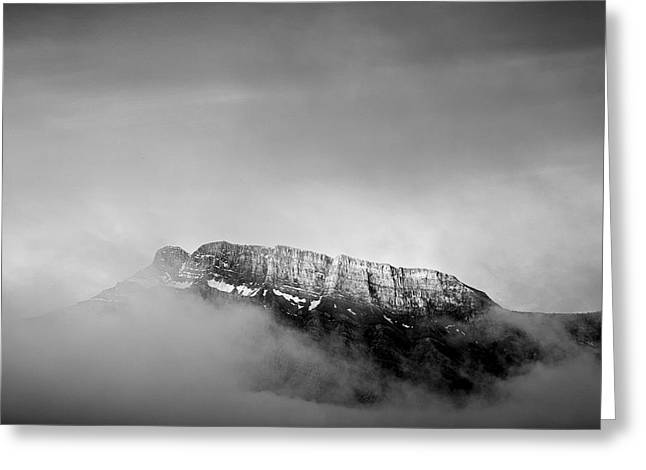 Top Of Mount Rundle II Greeting Card