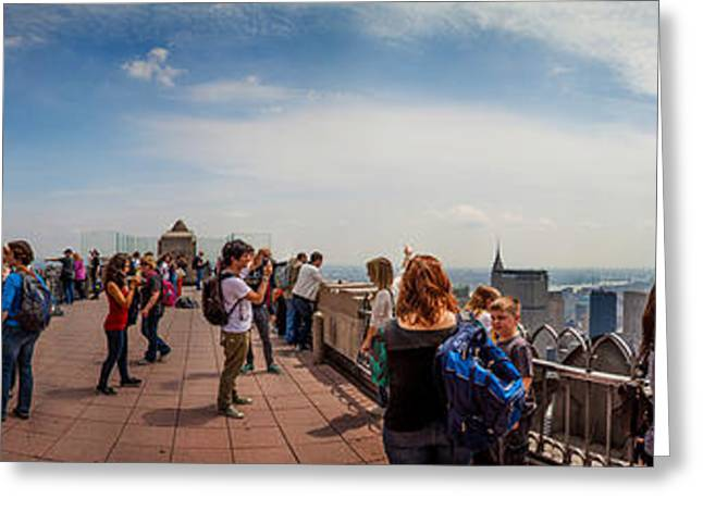 Top Of The Rock Experience Greeting Card