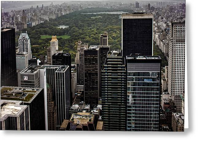 Top Of The Rock Nyc Greeting Card by Martin Newman