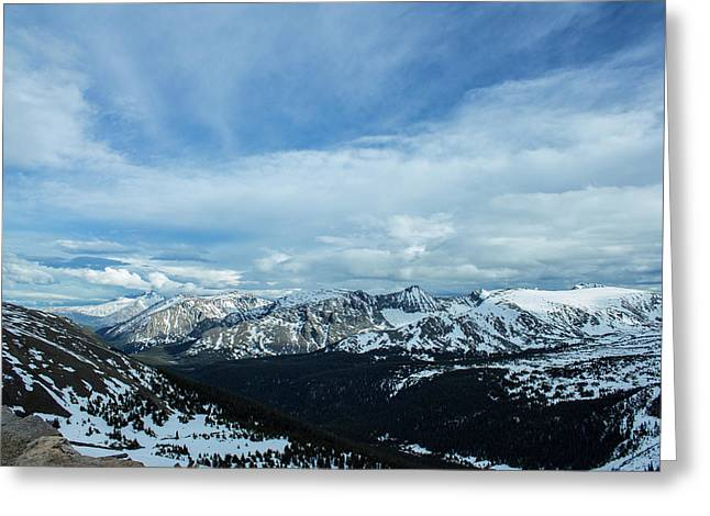 Top Of The Rockies Greeting Card
