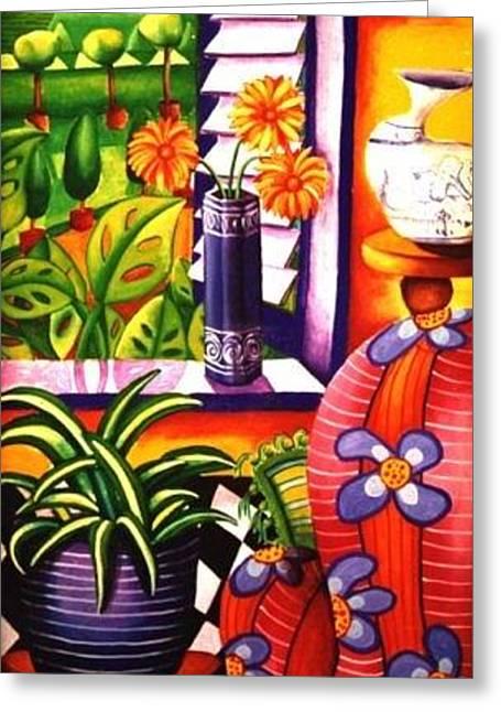 Topiary Garden Greeting Card