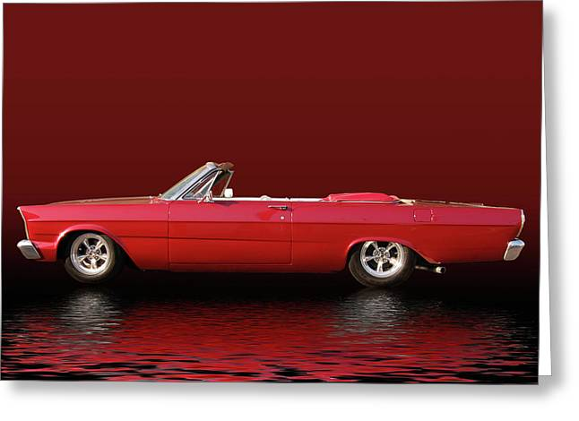 Slammer Greeting Cards - Topless Galaxie Greeting Card by Bill Dutting