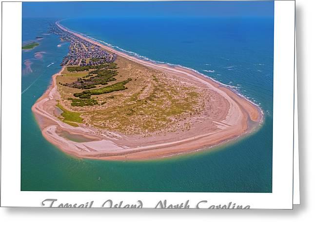 Topsail Aerial Custom 2 Greeting Card by Betsy Knapp