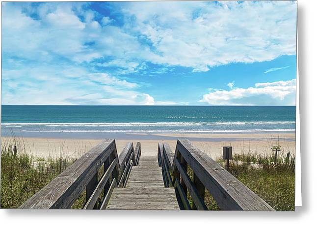 Topsail Begin Your Tradition Now  Greeting Card