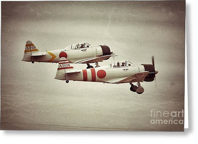 Tora Tora Tora Greeting Card