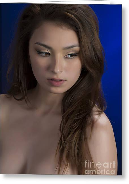 Toriwaits Nude Fine Art Print Photograph In Color 5072.02 Greeting Card