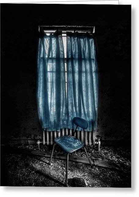 Tormented In Grace Greeting Card by Evelina Kremsdorf