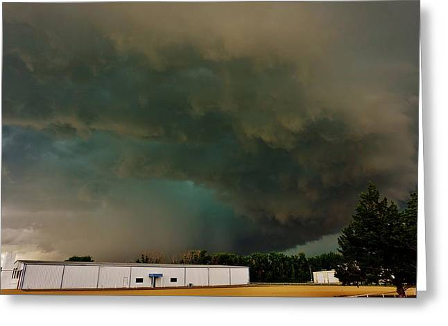 Tornadic Supercell Greeting Card