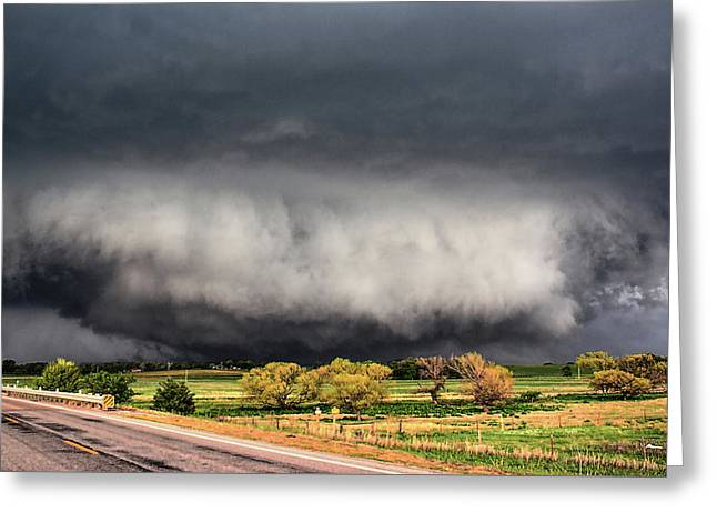 Tornado Day Greeting Card