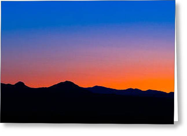 Tornillo Sunset Greeting Card