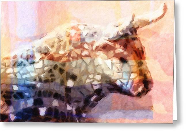 Toro Colorful Greeting Card