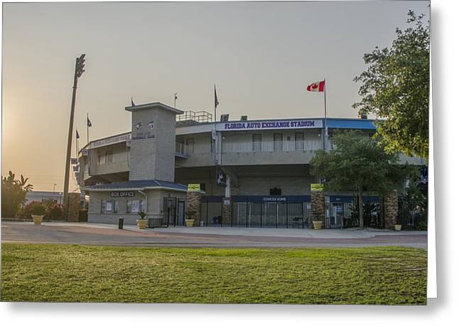 Toronto Blue Jays - Florida Auto Exchange Stadium Greeting Card