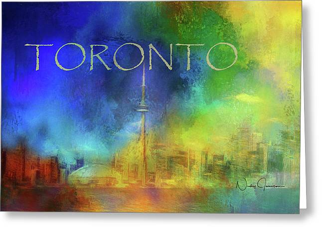 Toronto - Cityscape Greeting Card