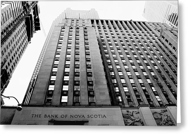 Toronto Historic Building Greeting Card by Valentino Visentini