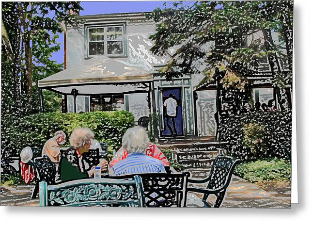 Toronto Island Restaurant Greeting Card
