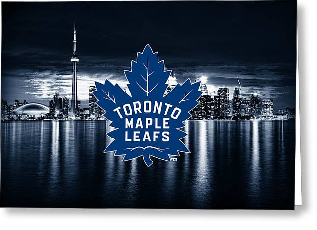 Toronto maple leafs nhl hockey digital art by nicholas legault toronto maple leafs nhl hockey greeting card by nicholas legault bookmarktalkfo Images