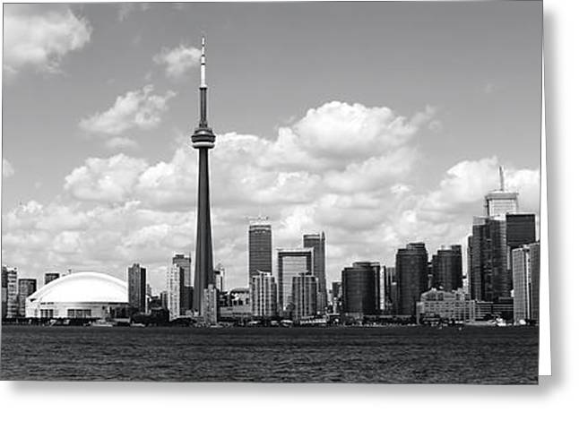 Toronto Skyline 11 Greeting Card by Andrew Fare