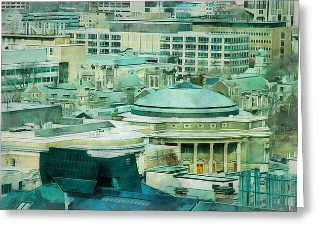 Toronto Window View Greeting Card
