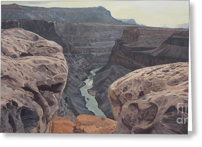 Toroweap Overlook Grand Canyon North Rim Greeting Card