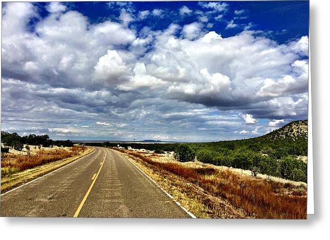 Torrance County Clouds Greeting Card