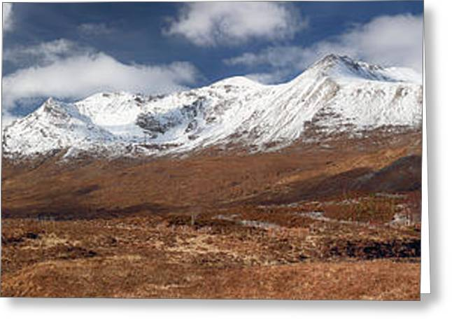 Torridon Panorama Greeting Card