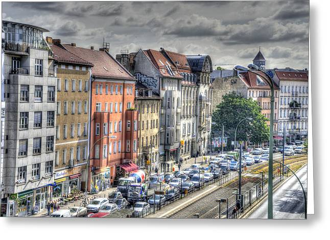Torstrasse Berlin Greeting Card