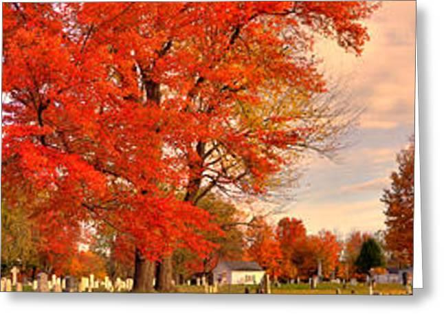 Tory Hill Church Buxton Maine Greeting Card