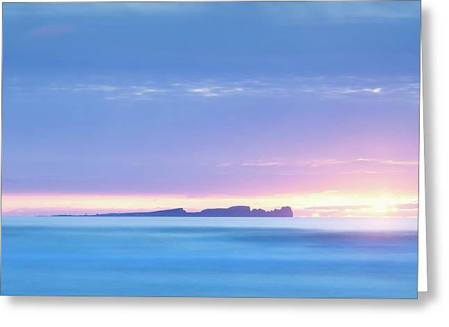 Tory Island Sunset Greeting Card by Peter McCabe