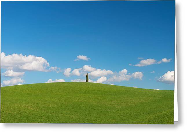 Greeting Card featuring the photograph Toscana by Mirko Chessari