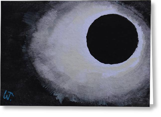 Total Solar Eclipse Greeting Card by Warren Thompson