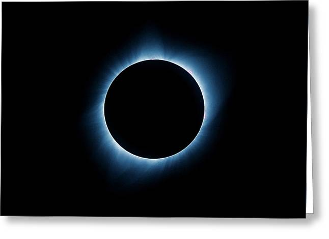 Greeting Card featuring the photograph Totality by Rikk Flohr