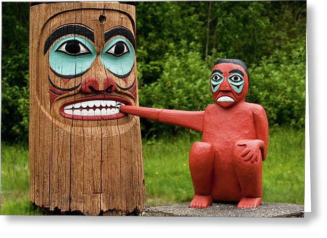 Totem Bite Greeting Card