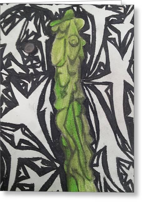 Totem Pole Cactus 2 Greeting Card