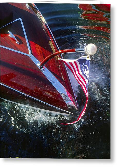 Touch Of Class - Lake Geneva Wisconsin Greeting Card