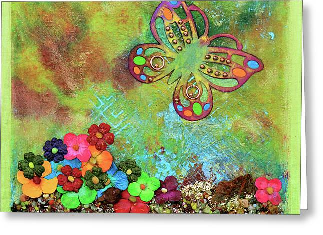 Touched By Enchantment Greeting Card by Donna Blackhall
