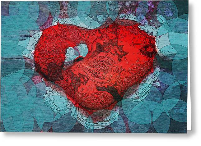 Tough Love Greeting Card by Linda Sannuti