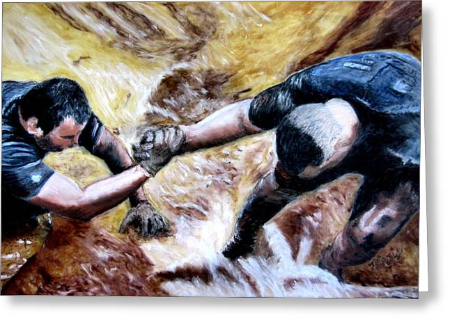 Tough Mudder Wounded Warrior Contest Greeting Card