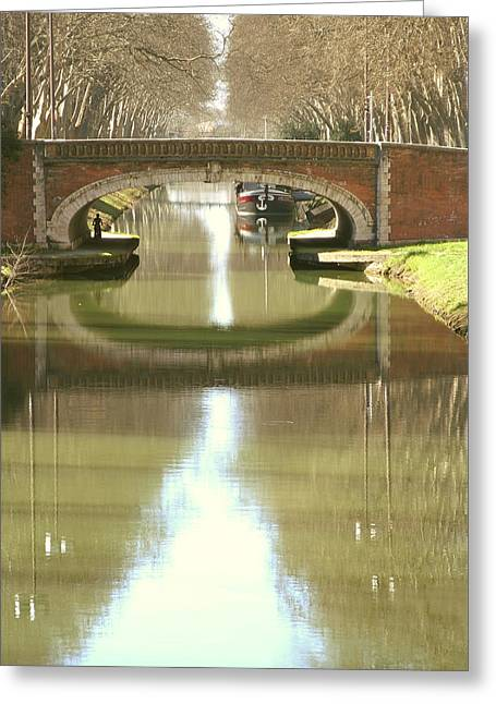 Toulouse - A Different View Greeting Card by Dagmar Batyahav