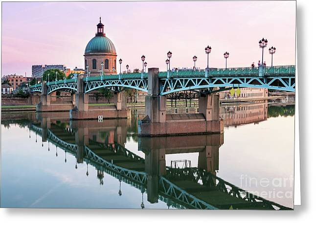 Toulouse At Sunset Greeting Card by Elena Elisseeva