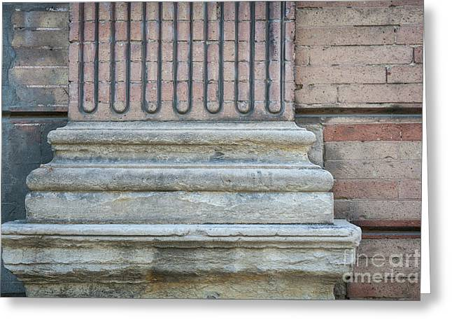 Toulouse Building Fragment Greeting Card by Elena Elisseeva