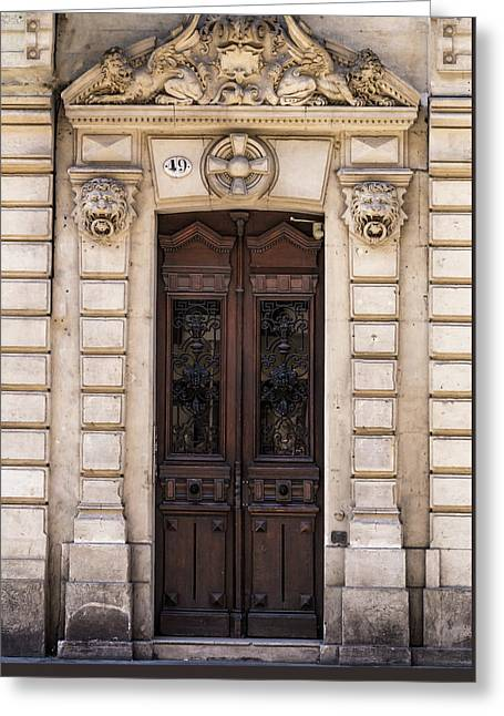 Toulouse Door Greeting Card