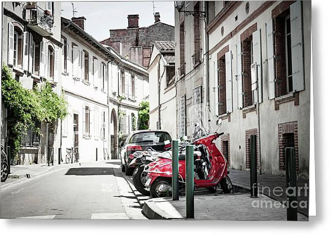 Greeting Card featuring the photograph Toulouse Street by Elena Elisseeva