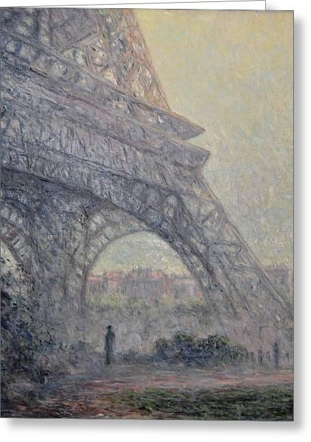 Paris , Tour De Eiffel  Greeting Card