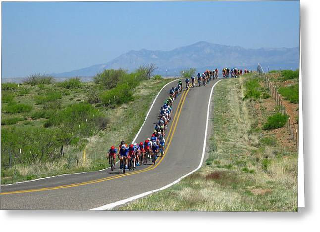 Tour Of The Gila 2017 Greeting Card