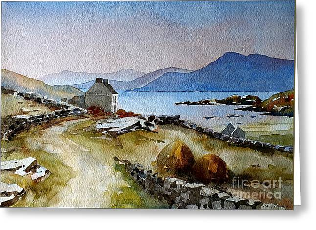 Towards Meelrea From Inisboffin Greeting Card