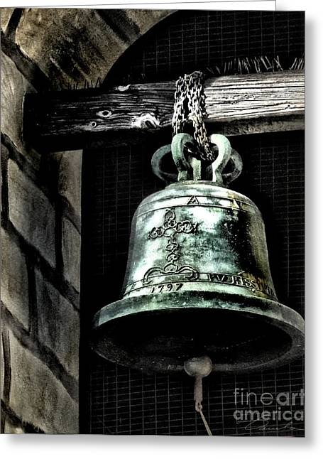 Tower Bell Greeting Card