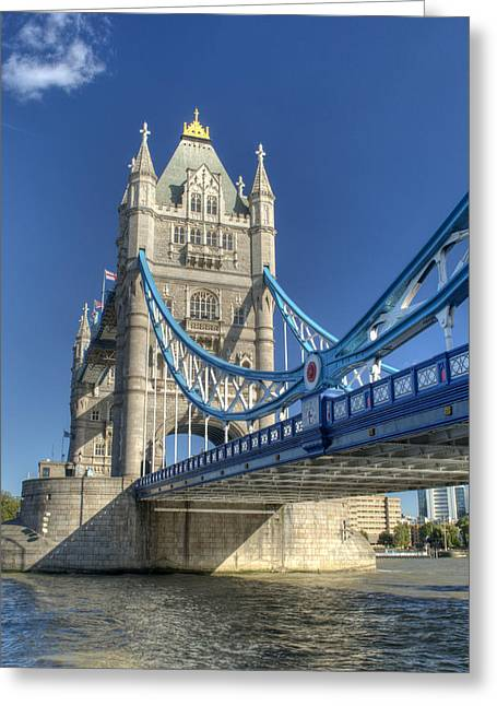 Tower Bridge 2 Greeting Card by Chris Day